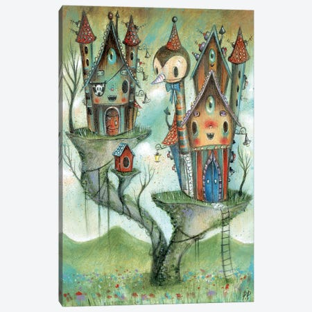 Pirates House Canvas Print #PAO25} by Paolo Petrangeli Canvas Art