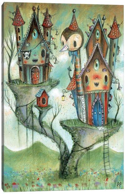 Pirates House Canvas Art Print