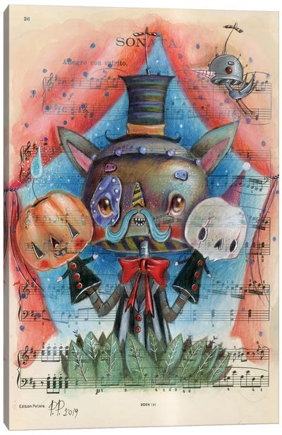 The Puppet Show Canvas Art Print