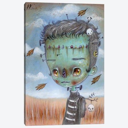 Frankie Canvas Print #PAO8} by Paolo Petrangeli Canvas Wall Art