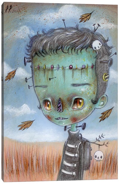 Frankie Canvas Art Print