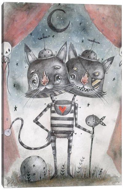 Geppino Show Canvas Art Print