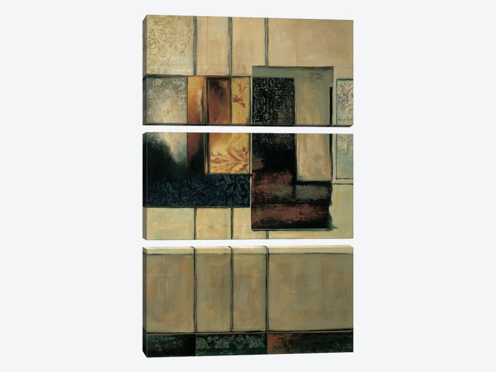 This Way II by Paul Sanderson 3-piece Canvas Print