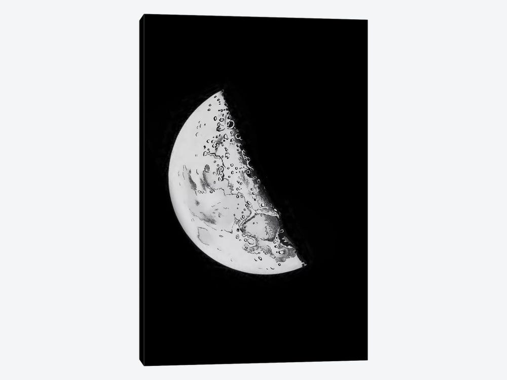 Phases Of The Moon III by PatentPrintStore 1-piece Canvas Art