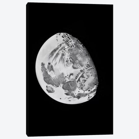 Phases Of The Moon V Canvas Print #PAT105} by PatentPrintStore Canvas Art