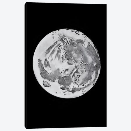 Phases Of The Moon VI Canvas Print #PAT106} by PatentPrintStore Canvas Artwork