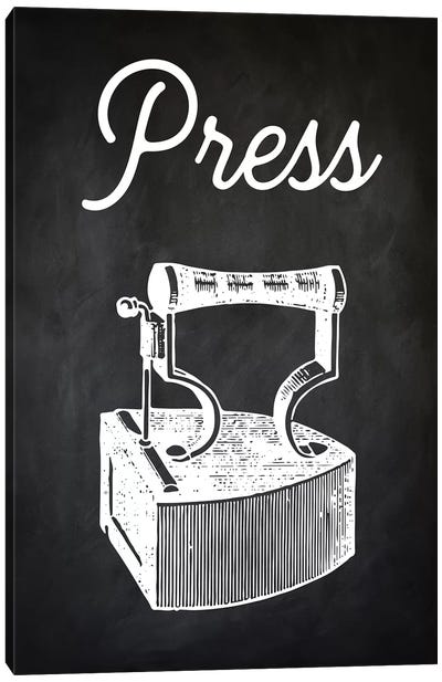 Press Canvas Art Print