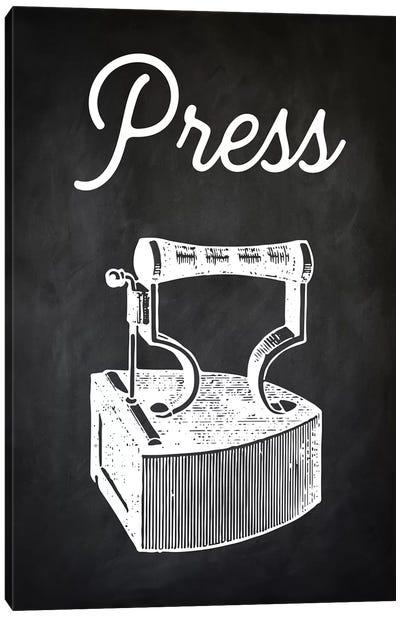 Press Canvas Art Print