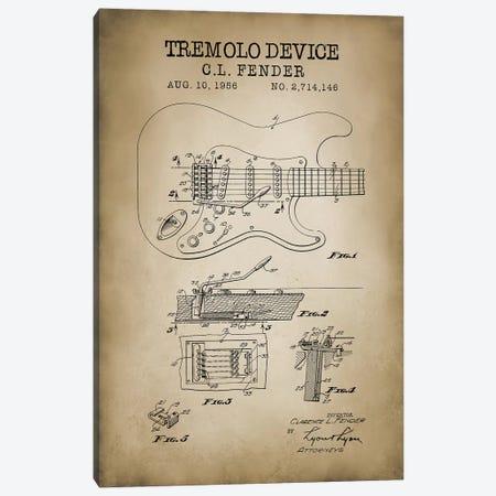 Tremolo Device Canvas Print #PAT136} by PatentPrintStore Canvas Art Print