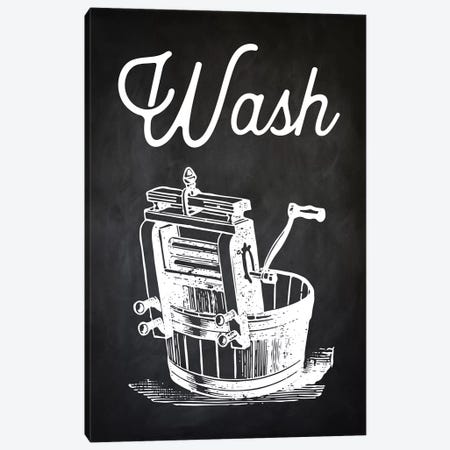 Wash Canvas Print #PAT142} by PatentPrintStore Canvas Print