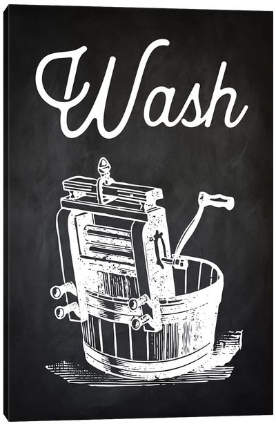 Wash Canvas Art Print