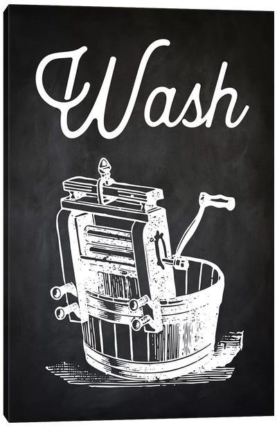 Wash Canvas Art Print