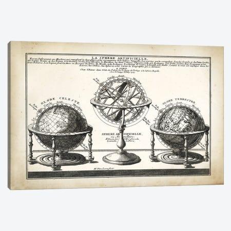 La Sphere Canvas Print #PAT163} by PatentPrintStore Canvas Art Print