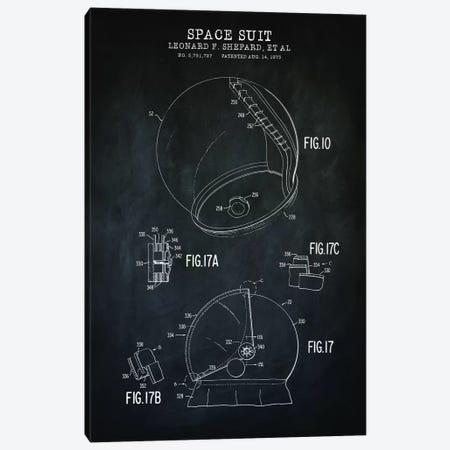 Spacesuit III Canvas Print #PAT182} by PatentPrintStore Art Print