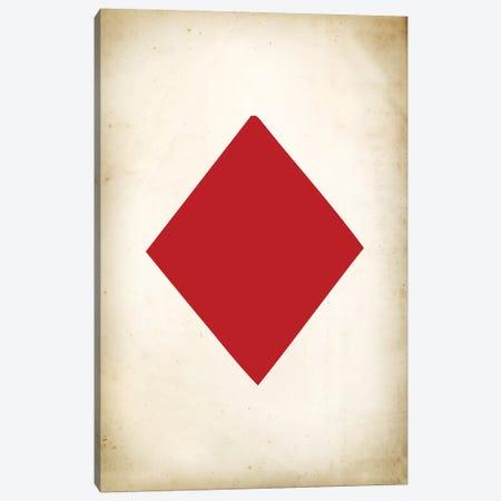 Card IV: Diamond Canvas Print #PAT26} by PatentPrintStore Canvas Art Print