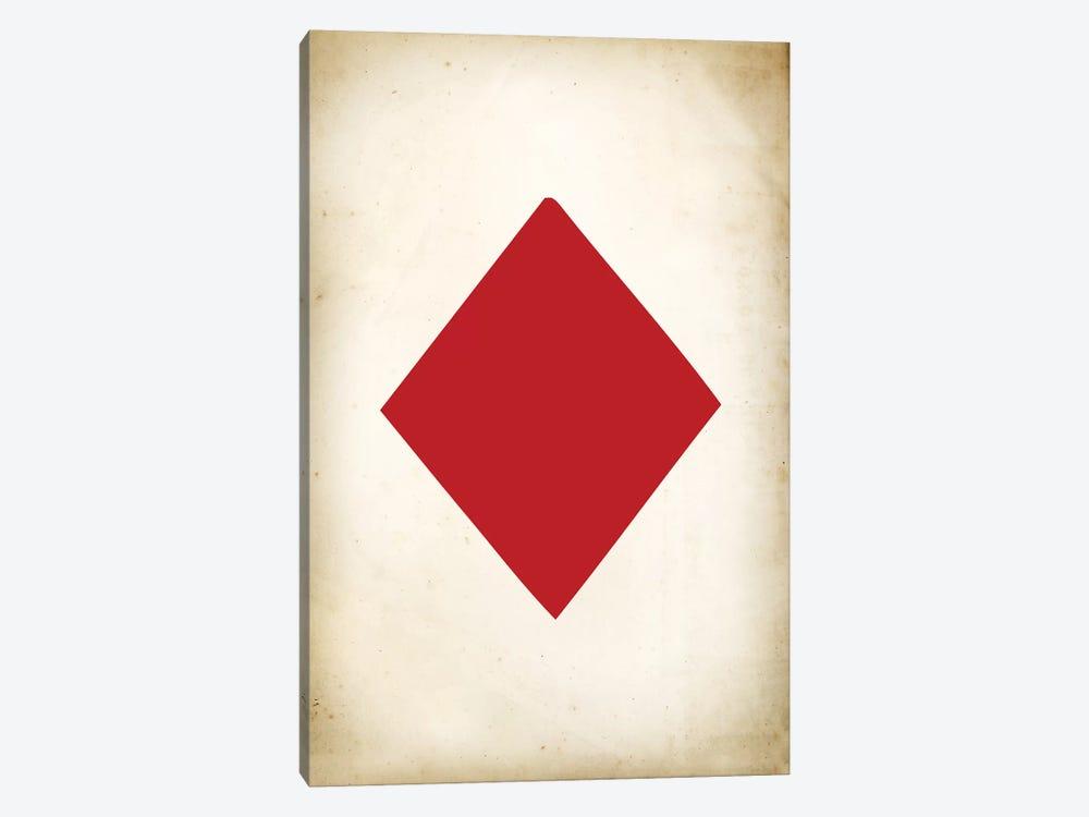 Card IV: Diamond by PatentPrintStore 1-piece Canvas Art