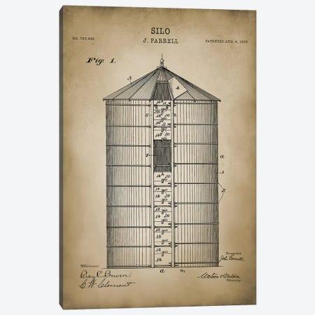 Farm V Canvas Print #PAT43} by PatentPrintStore Canvas Wall Art