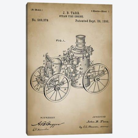 Firefight IV Canvas Print #PAT49} by PatentPrintStore Canvas Artwork
