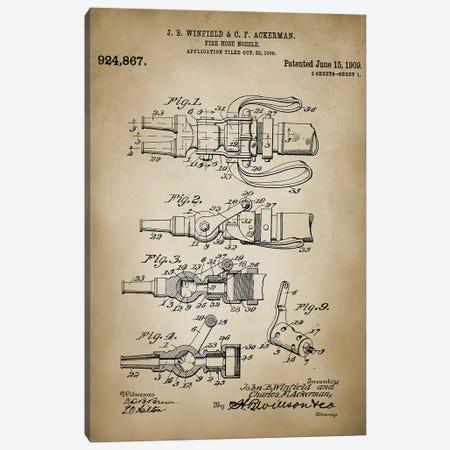 Firefight VI Canvas Print #PAT52} by PatentPrintStore Art Print