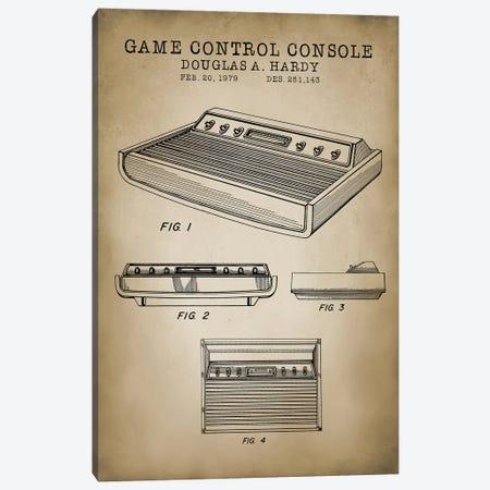 Atari II Canvas Print #PAT6} by PatentPrintStore Art Print