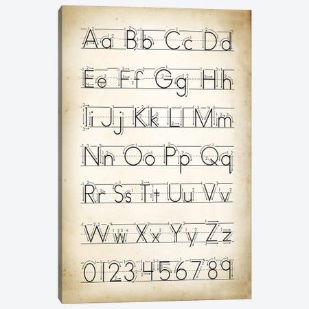 Handwriting II Canvas Print #PAT73} by PatentPrintStore Canvas Print