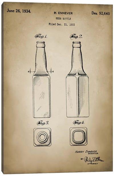 Beer Bottle Canvas Art Print