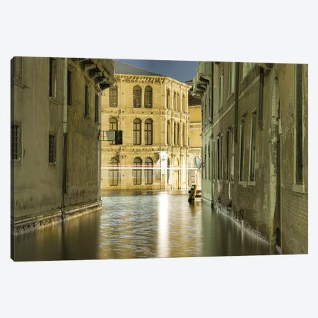 Venice, Italy, To The Grand Canal 3-Piece Canvas #PAU105} by Mark Paulda Canvas Art Print