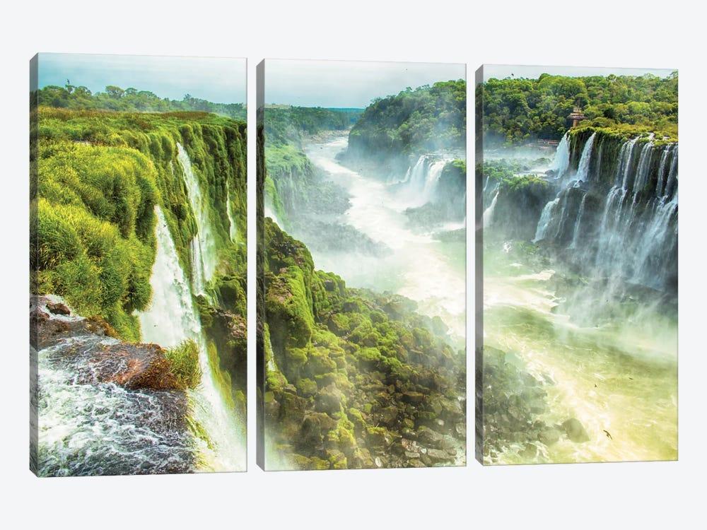 Iguazu Falls XIX by Mark Paulda 3-piece Canvas Art