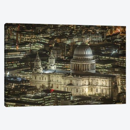 St. Paul's Cathedral, London I Canvas Print #PAU110} by Mark Paulda Canvas Print