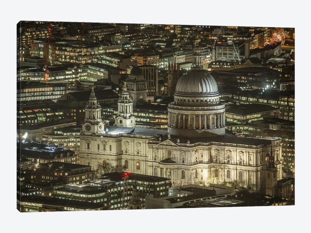 St. Paul's Cathedral, London I by Mark Paulda 1-piece Canvas Art