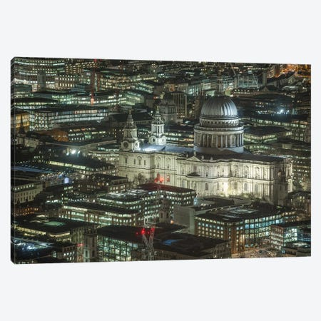 St. Paul's Cathedral, London II Canvas Print #PAU111} by Mark Paulda Canvas Print
