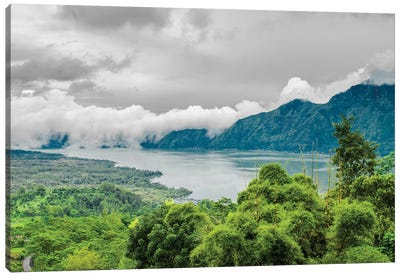 Lake Batur, Kintamani, Indonesia Canvas Art Print
