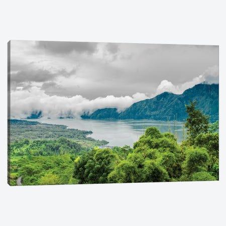 Lake Batur, Kintamani, Indonesia Canvas Print #PAU116} by Mark Paulda Canvas Wall Art