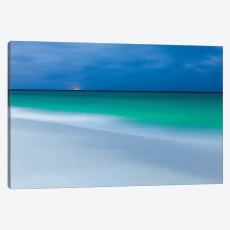 Aruba During Full Moon Canvas Print #PAU119} by Mark Paulda Canvas Art Print