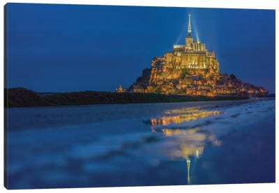 Le Mont Saint-Michel I, Normandy, France Canvas Art Print