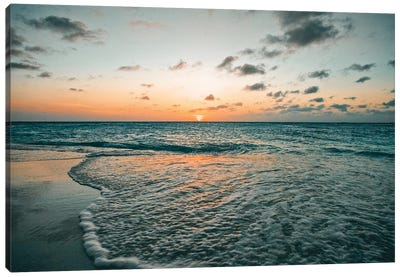 Aruba Sunset Canvas Art Print