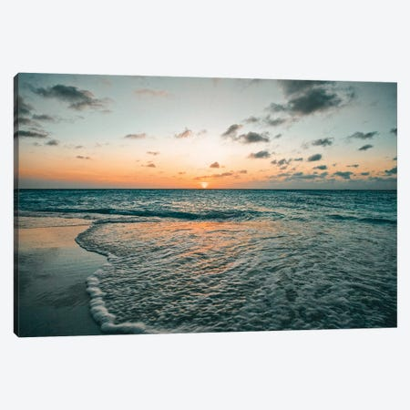 Aruba Sunset Canvas Print #PAU121} by Mark Paulda Canvas Artwork