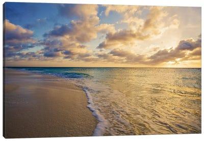Aruba Sunset II Canvas Art Print
