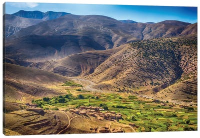 Atlas Mountains Morocco Canvas Art Print
