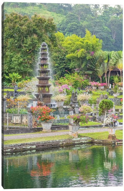 Bali Water Palace Canvas Art Print