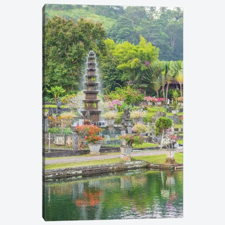 Bali Water Palace Canvas Print #PAU129} by Mark Paulda Canvas Artwork