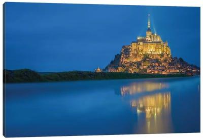 Le Mont Saint-Michel II, Normandy, France Canvas Print #PAU12