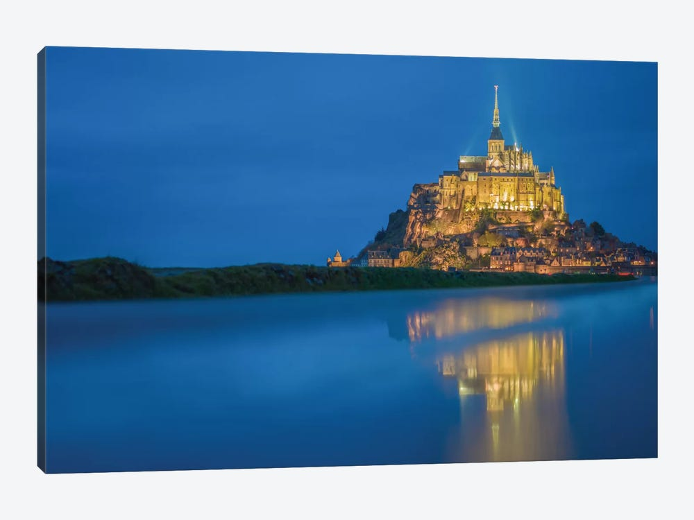 Le Mont Saint-Michel II, Normandy, France by Mark Paulda 1-piece Canvas Artwork