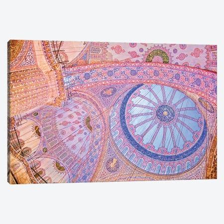 Blue Mosque Canvas Print #PAU134} by Mark Paulda Canvas Art