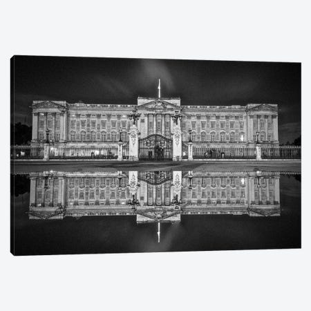 Buckingham Reflection Canvas Print #PAU138} by Mark Paulda Canvas Print