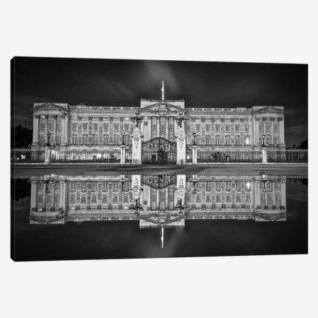 Buckingham Reflection Canvas Print #PAU138} by Mark Paulda Canvas Print