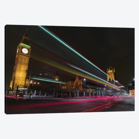 London Crossroads Canvas Print #PAU13} by Mark Paulda Canvas Artwork