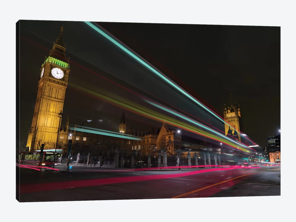 London Crossroads by Mark Paulda 1-piece Art Print