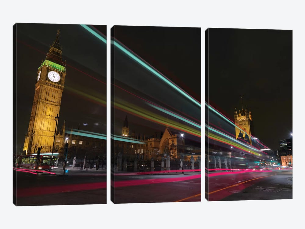 London Crossroads by Mark Paulda 3-piece Canvas Art Print