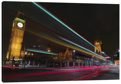 London Crossroads Canvas Art Print